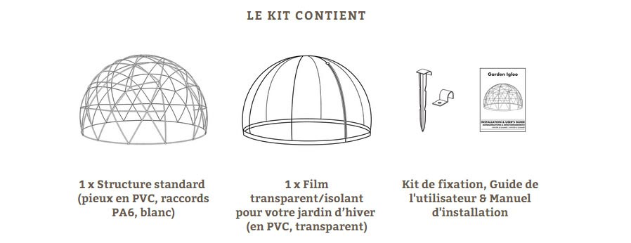 kit garden igloo