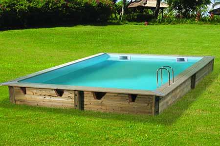 liner piscine bois ubbink lin a 3 x 3 x 1 26 m couleur au choix. Black Bedroom Furniture Sets. Home Design Ideas