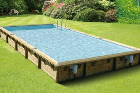 Liner piscine bois ubbink lin a 8 x 5 x 1 4 m couleur au choix for Epaisseur liner piscine