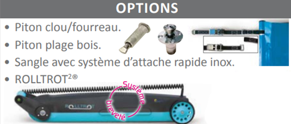 options couverture barres basic