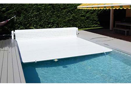 volet piscine automatique hors sol abriblue open classic