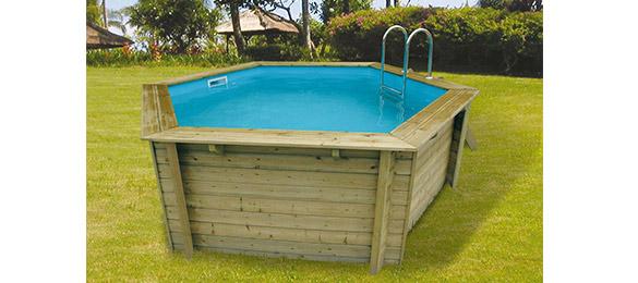 Piscine bois azura ubbink 4 1 x 1 2 m filtration - Mise en route piscine hors sol ...