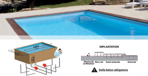 piscine bois evora