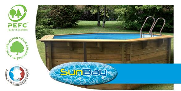 Piscine sunbay liner piscine bois sunbay distripool for Piscine sunbay grenade