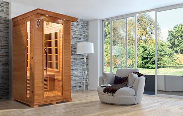 sauna chez soi sauna chez soi with sauna chez soi cool free entre hammam avec pte de verre. Black Bedroom Furniture Sets. Home Design Ideas