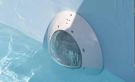 projecteur led 24w pour piscine bois ubbink couleur blanc chaud. Black Bedroom Furniture Sets. Home Design Ideas