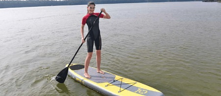 stand up paddle x1 zray action