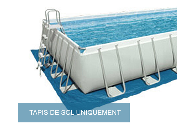 Tapis de sol piscine rectangulaire intex for Tapis sol piscine