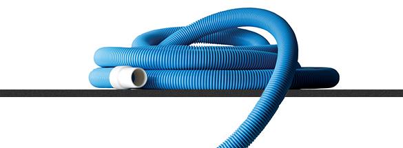 tuyau flottant pour piscines acier gr 38 mm longueur au choix. Black Bedroom Furniture Sets. Home Design Ideas