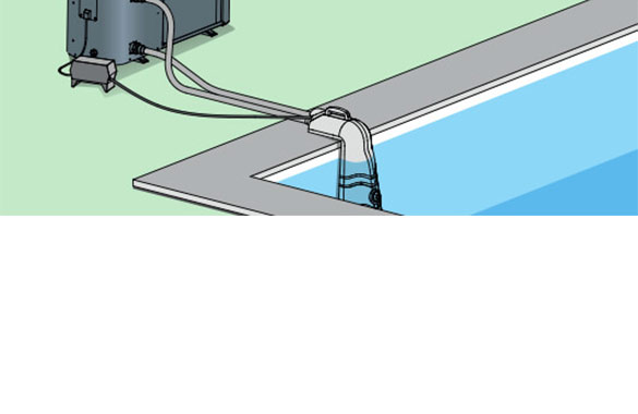 Connecteur universel uconnect pour pompe chaleur piscine poolex - Pompe pour vider la piscine ...