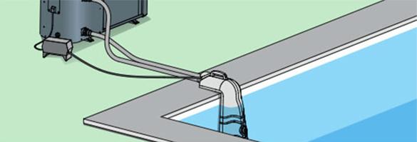 connecteur universel uconnect pour pompe chaleur piscine poolex. Black Bedroom Furniture Sets. Home Design Ideas