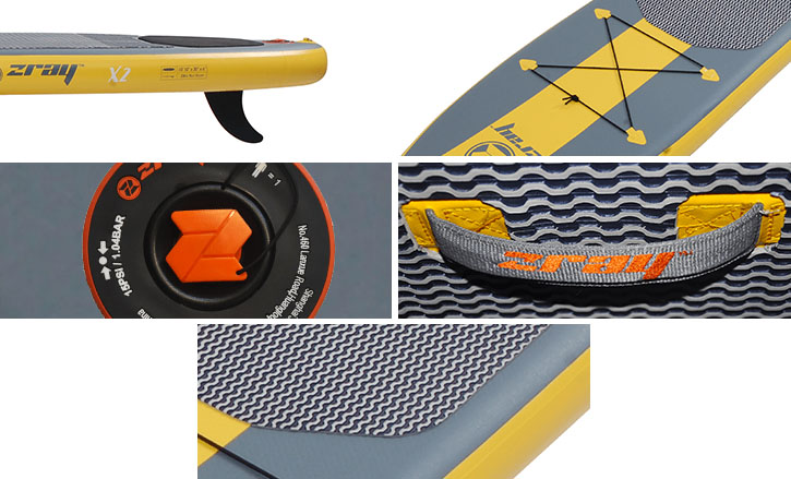zoom stand up paddle x2 zray